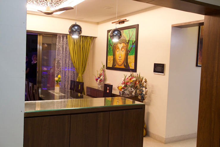 AMIT BLOOMFIELD 3BHK: classic  by decormyplace,Classic