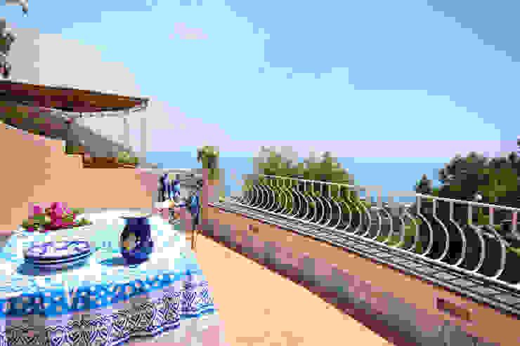 archielle Balcon, Veranda & Terrasse méditerranéens
