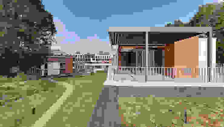 Brick Lane Jardines de estilo moderno de IQ Outdoor Living Moderno