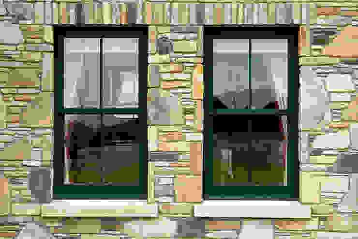 حديث  تنفيذ Marvin Windows and Doors UK, حداثي الألومنيوم / الزنك