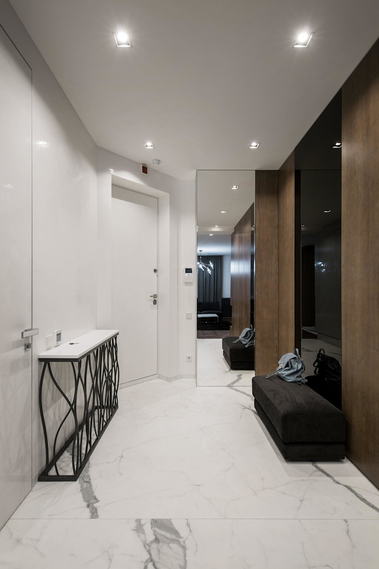 Koridor & Tangga Modern Oleh Design Evolution Modern