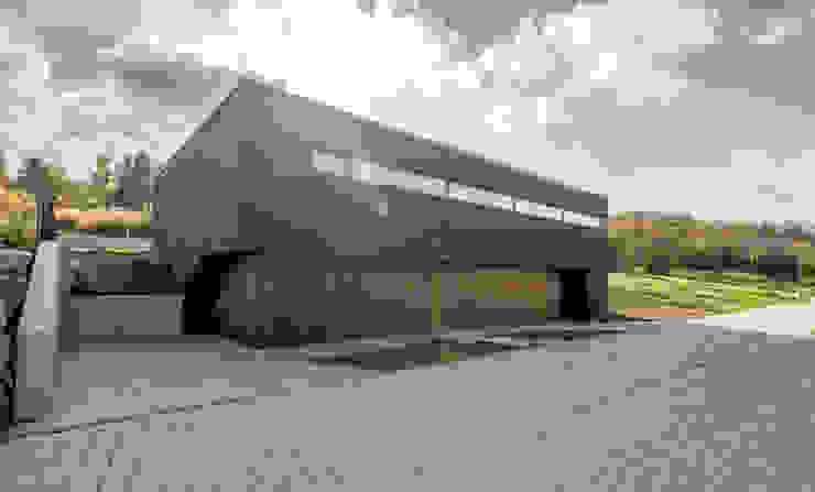 de Henecka Architekten Moderno Madera Acabado en madera