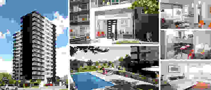 Open de Rau Arquitectos Moderno Concreto