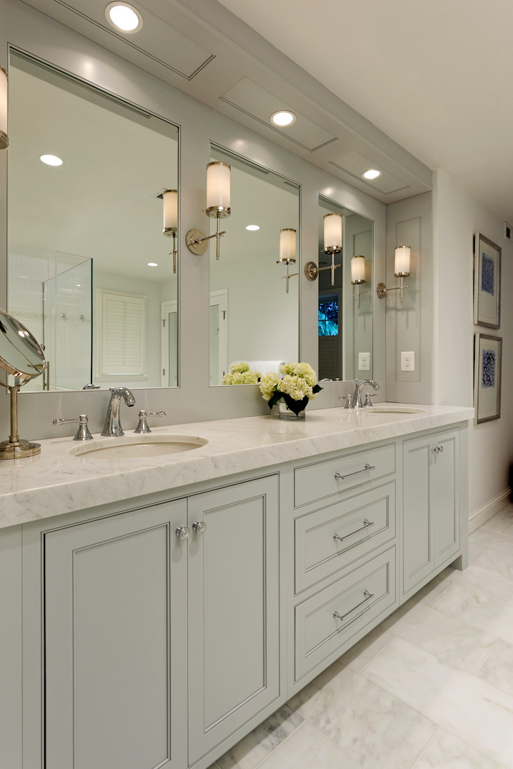 Whole House Design Build Renovation in Bethesda, MD Classic style bathroom by BOWA - Design Build Experts Classic