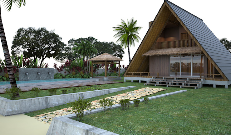 Home Stay Oleh JSK STUDIO DESIGN