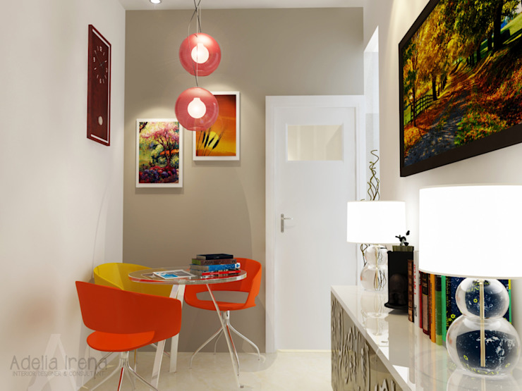 Area duduk Koridor & Tangga Modern Oleh PEKA INTERIOR Modern