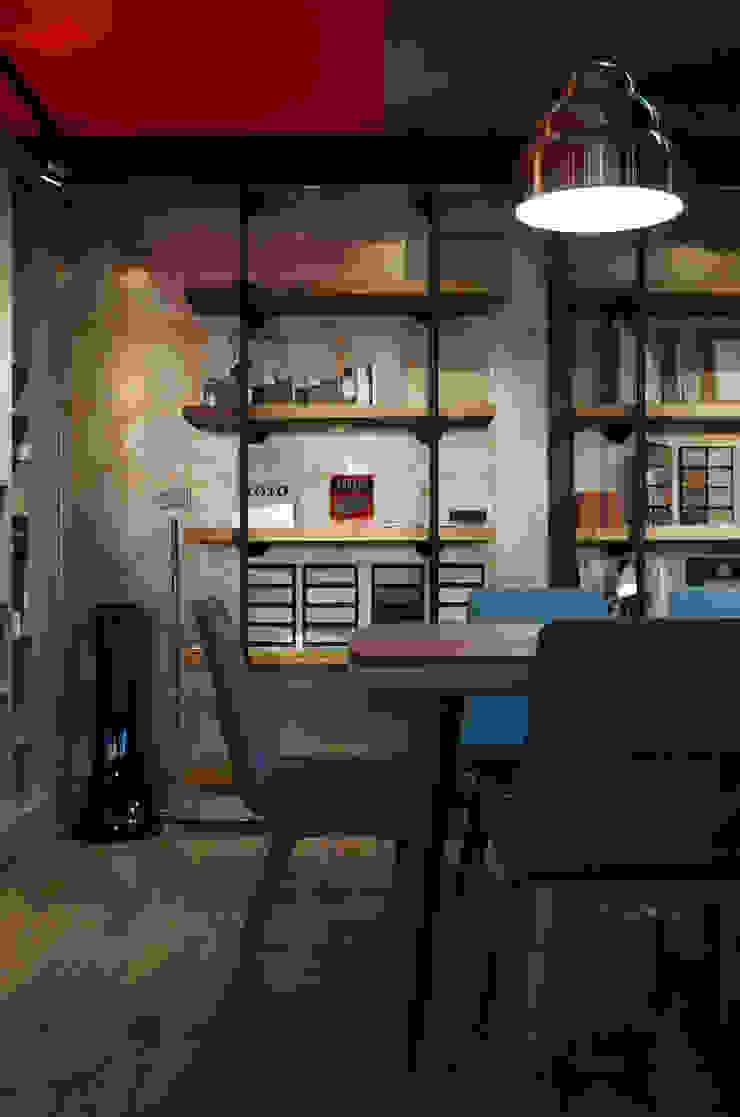 如咖啡廳的復古工業風辦公室 根據 哲嘉室內規劃設計有限公司 工業風