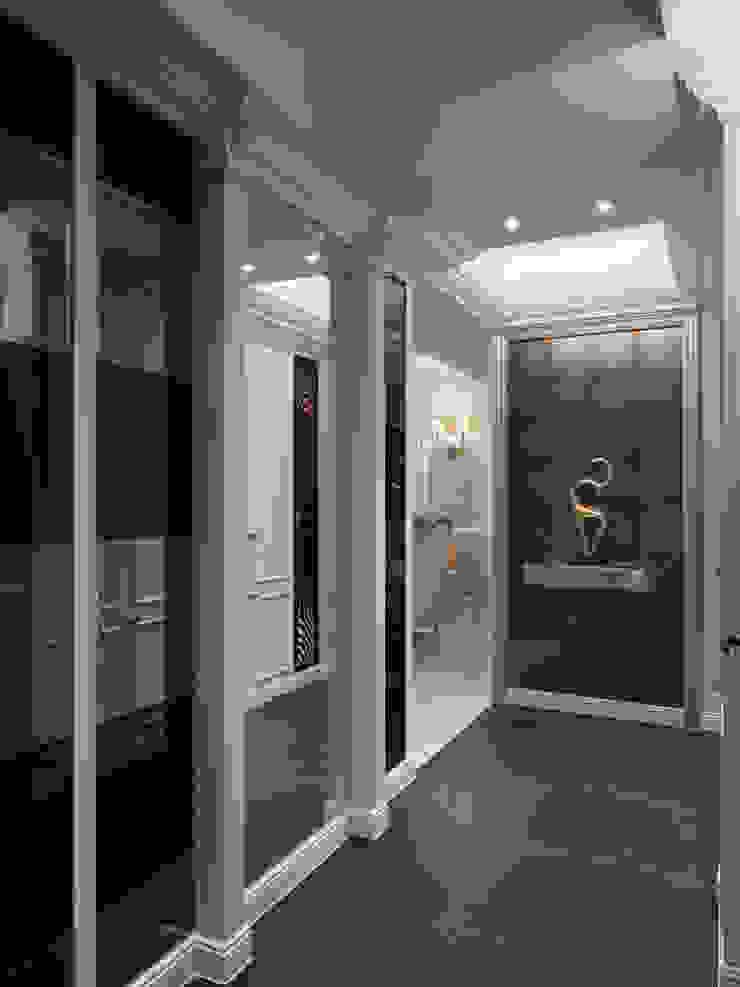 奢華新古典 經典風格的走廊,走廊和樓梯 根據 哲嘉室內規劃設計有限公司 古典風