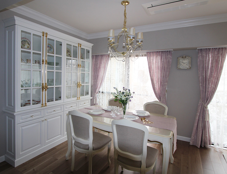 Classic style dining room by アニーズ株式会社 Classic
