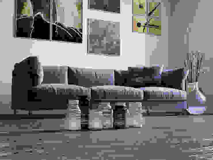 mcp-render Salas/RecibidoresSofás y sillones Azul