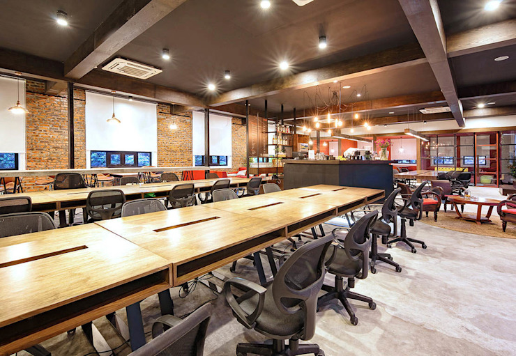 TOONG Co-working Space: hiện đại  by Studio8 Architecture & Urban Design, Hiện đại