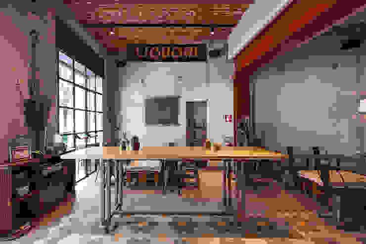 Cocinas de estilo industrial de Chantal Forzatti architetto Industrial