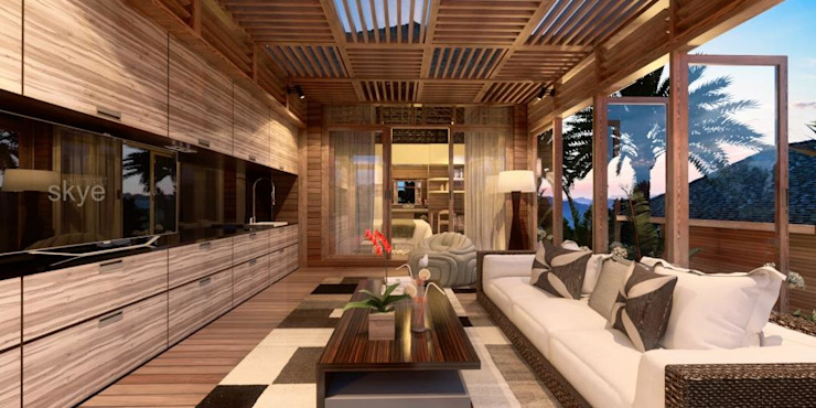 by Skye Architect Tropical Wood Wood effect