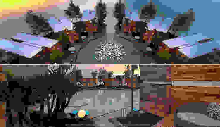 Nusa Ayung Resort Hotel Tropis Oleh Skye Architect Tropis Kayu Wood effect