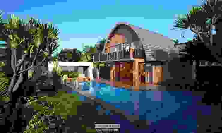 Pool Views Oleh Skye Architect Tropis Keramik