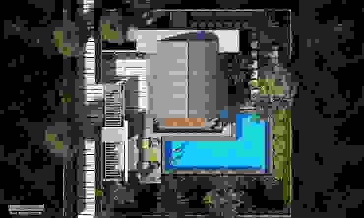par Skye Architect Tropical Bois d'ingénierie Transparent