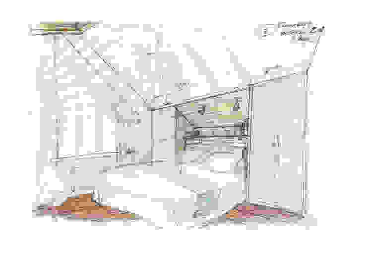Комната гостей (2 этаж) от Вадим Галина Кожевниковы Кантри