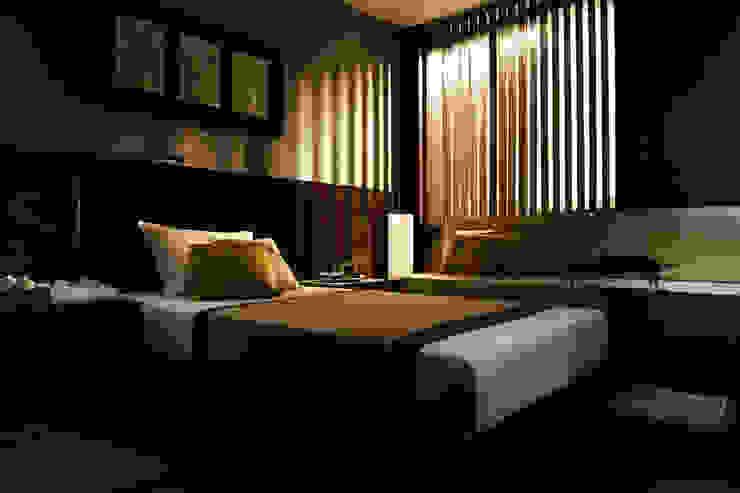 株式会社240design studio Modern style bedroom