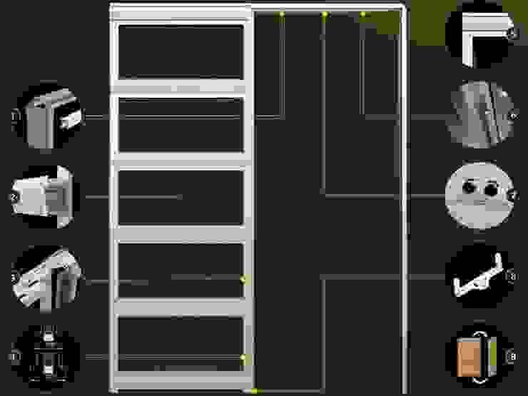 Inbouwframe Evo Kit Moderne kinderkamers van BestFix-Schuifdeursystemen Modern