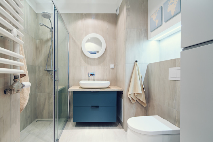 Scandinavian style bathroom by SUMA Architektów Scandinavian