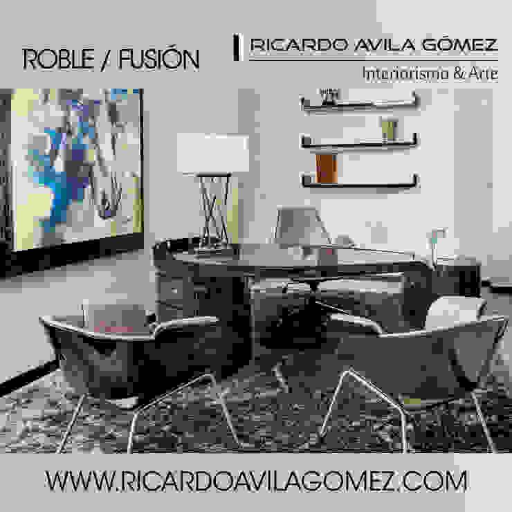 NUEVA COLECCION ROBLE/FUSIÓN 2017 de Ricardo Avila Gómez Interiorismo y Arte Moderno