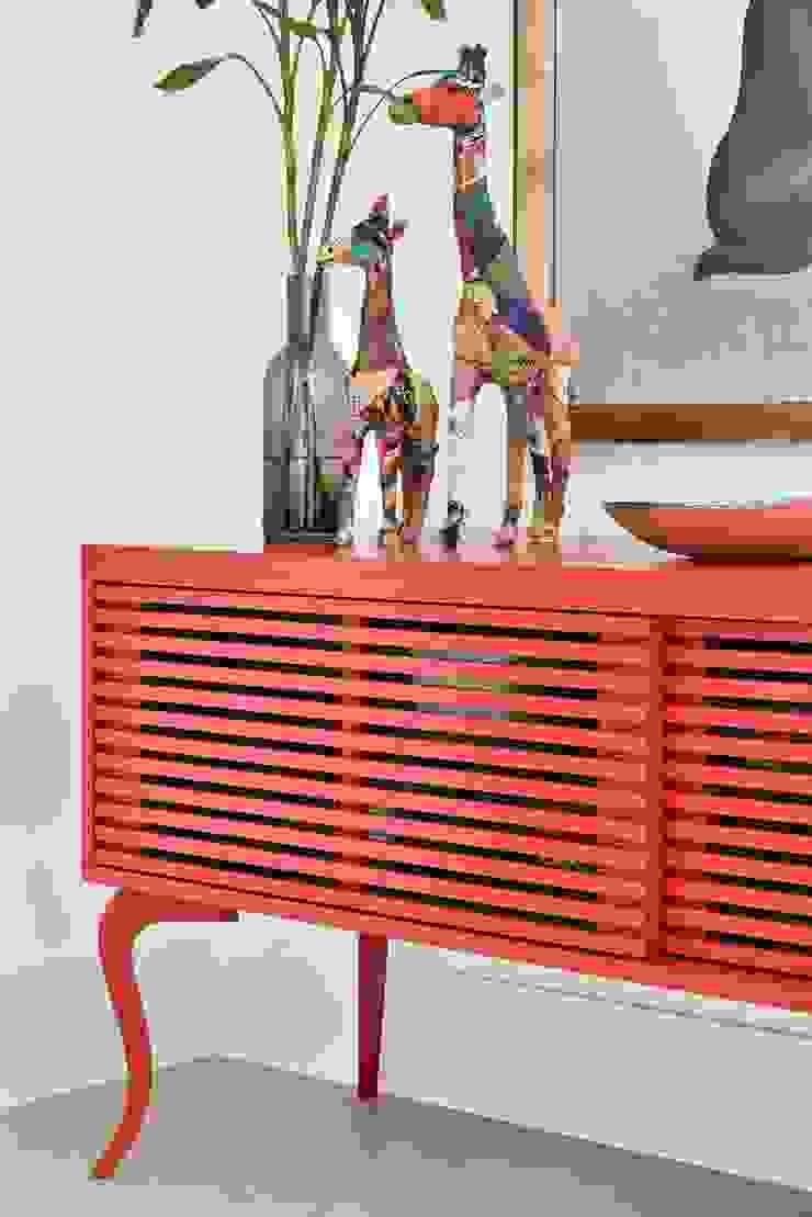 Move Móvel Criação de Mobiliário SalonStockage Bois Rouge