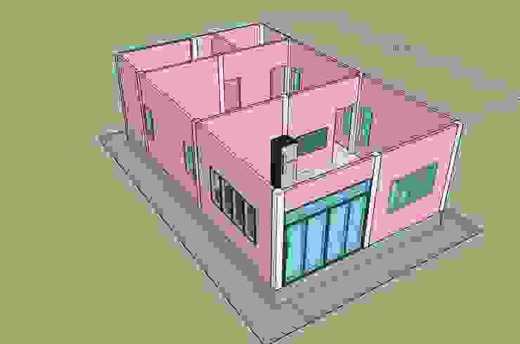 บ้านคิ๊ตตี้ kitty house โดย ภูมิพัฒน์รับสร้างบ้าน ผสมผสาน
