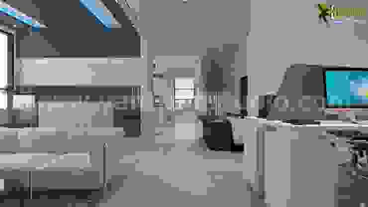 modern  by Yantram Architectural Design Studio, Modern Ceramic