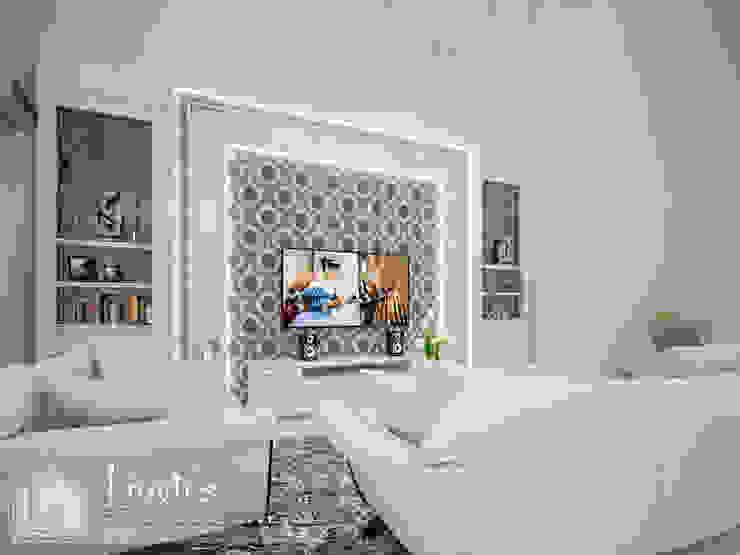 Living Room Ruang Keluarga Klasik Oleh PT Kreasi Cemerlang Abadi Klasik Kayu Wood effect