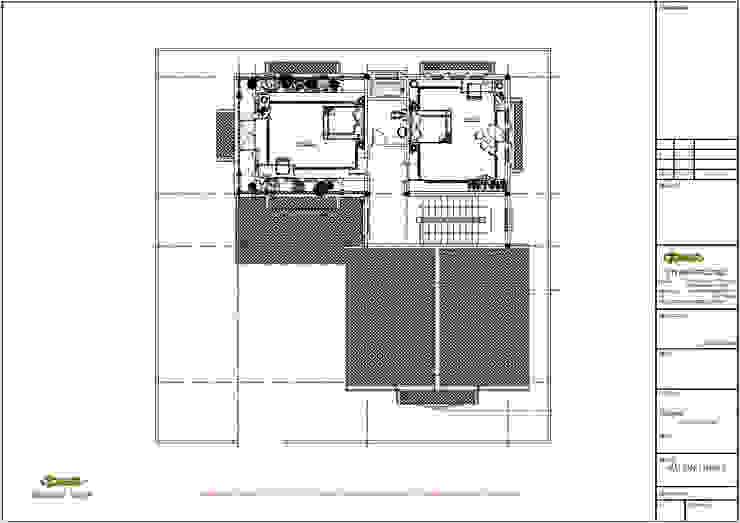 Mặt bằng tầng 3 bởi Công ty TNHH Thiết kế và Ứng dụng QBEST Nhiệt đới