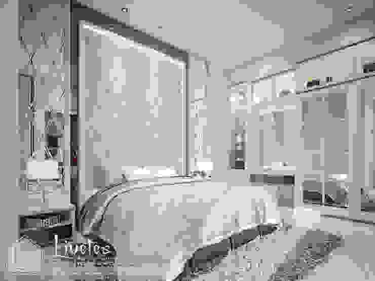 Master Bedroom Kamar Tidur Klasik Oleh PT Kreasi Cemerlang Abadi Klasik Kayu Wood effect