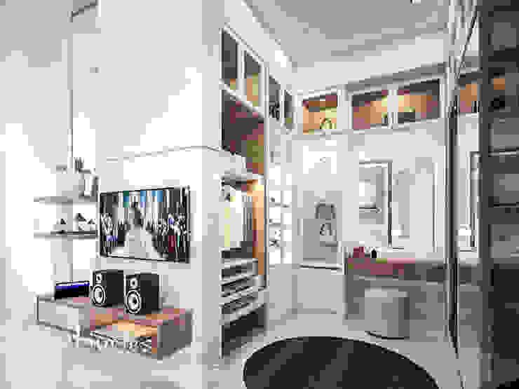 Parent Bedroom Kamar Tidur Klasik Oleh PT Kreasi Cemerlang Abadi Klasik Kayu Wood effect