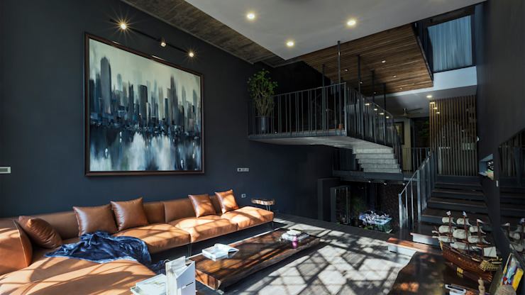 Living room by deline architecture consultancy & construction