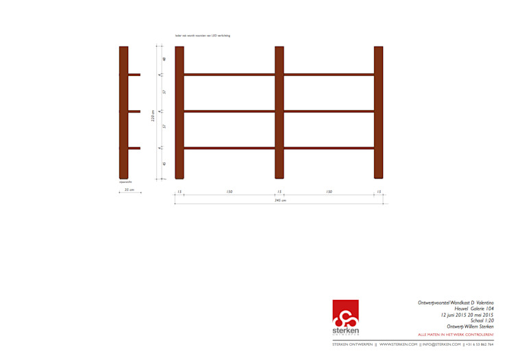 Valentino, art & design van Sterken Ontwerpen B.V.