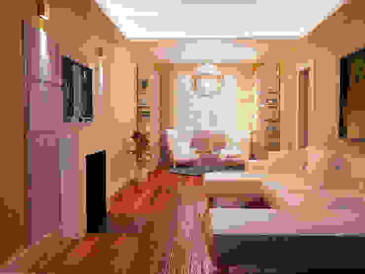 Arch. Francesco Antoniazza - Il bello della casa ..................... di una volta Living room Amber/Gold