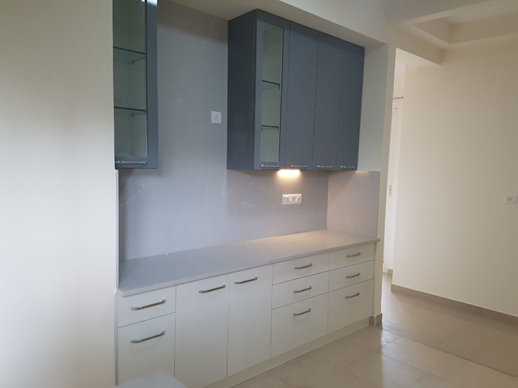 Interiors for a 3 Bedroom Apartment Mallika Seth Kitchen units