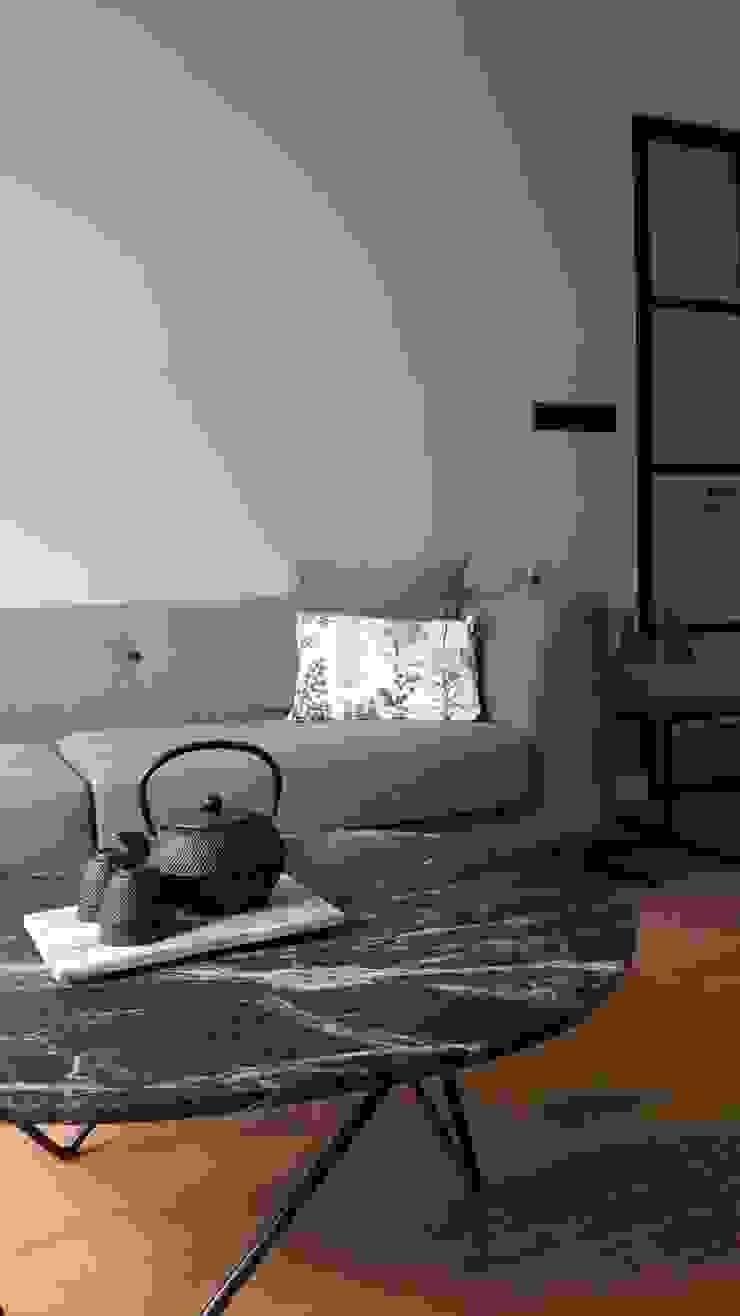 Groen marmer is helemaal in!: modern  door Vine Home Design, Modern