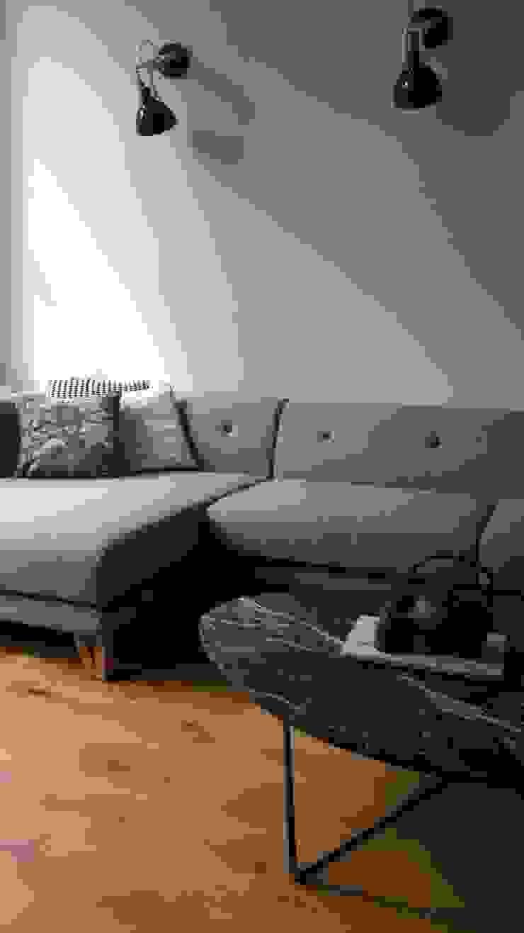 Modern en simpele hoekloungebank: modern  door Vine Home Design, Modern