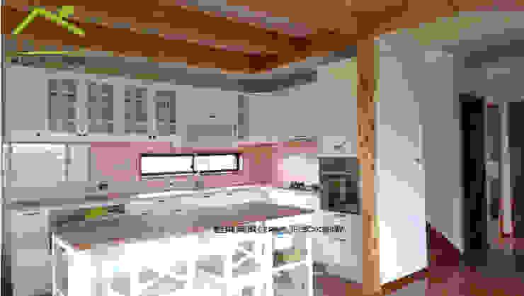Rustic style dining room by 詮鴻國際住宅股份有限公司 Rustic