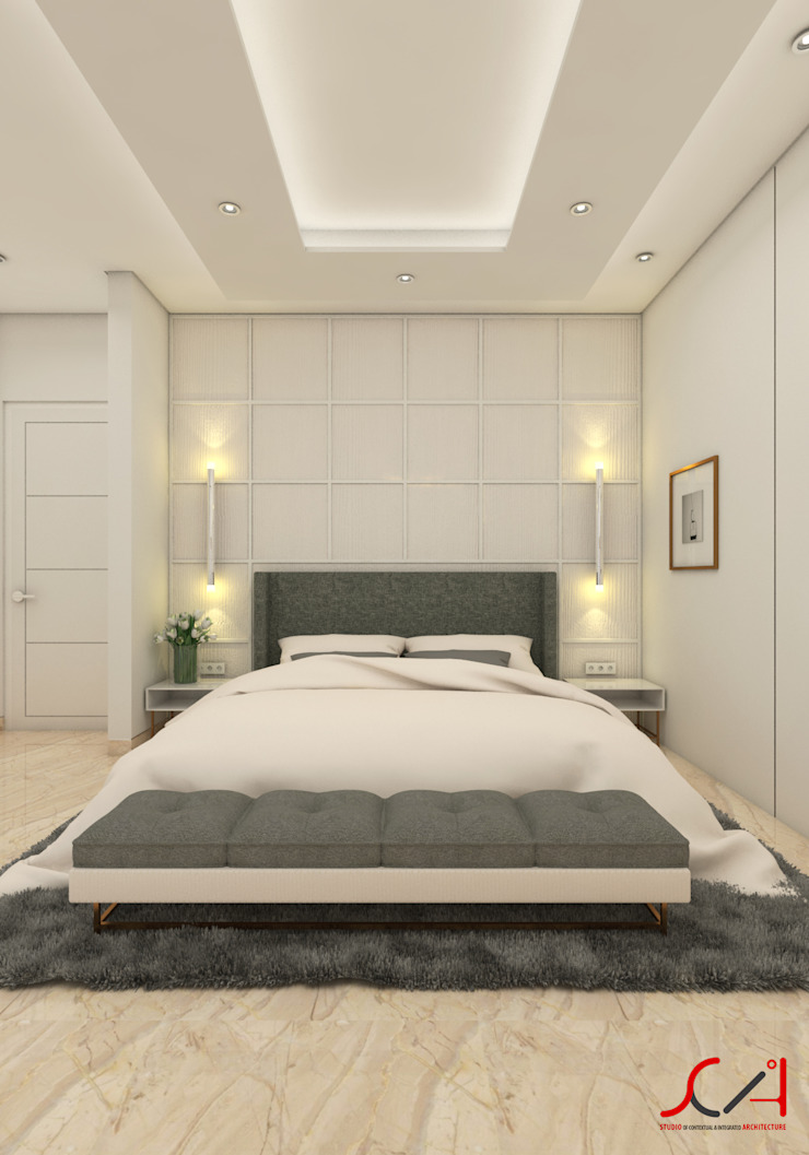 Minimalist bedroom by SCIArchitecture Minimalist Plywood