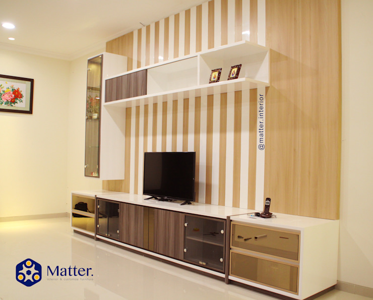 Modern style bedroom by Matter Interior Modern Plywood