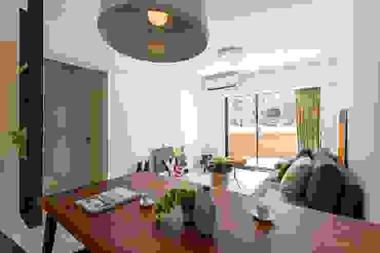 築川設計 Modern living room
