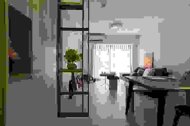 樸.淨 现代客厅設計點子、靈感 & 圖片 根據 築川設計 現代風