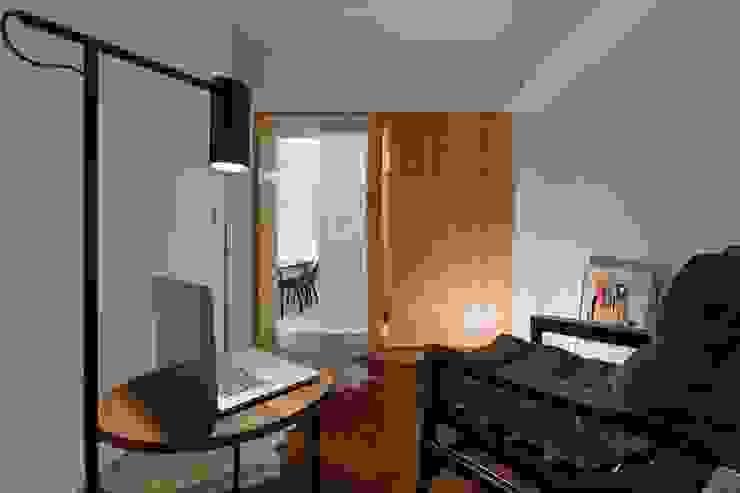 築川設計 Modern Study Room and Home Office