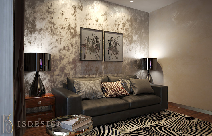 ISDesign group s.r.o. Eclectic style study/office