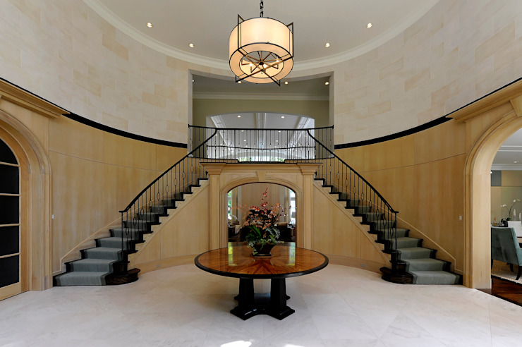 Purchase Consultation and Whole House Renovation in Potomac, Maryland Classic corridor, hallway & stairs by BOWA - Design Build Experts Classic