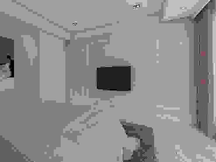 臥室2電視牆 根據 木皆空間設計
