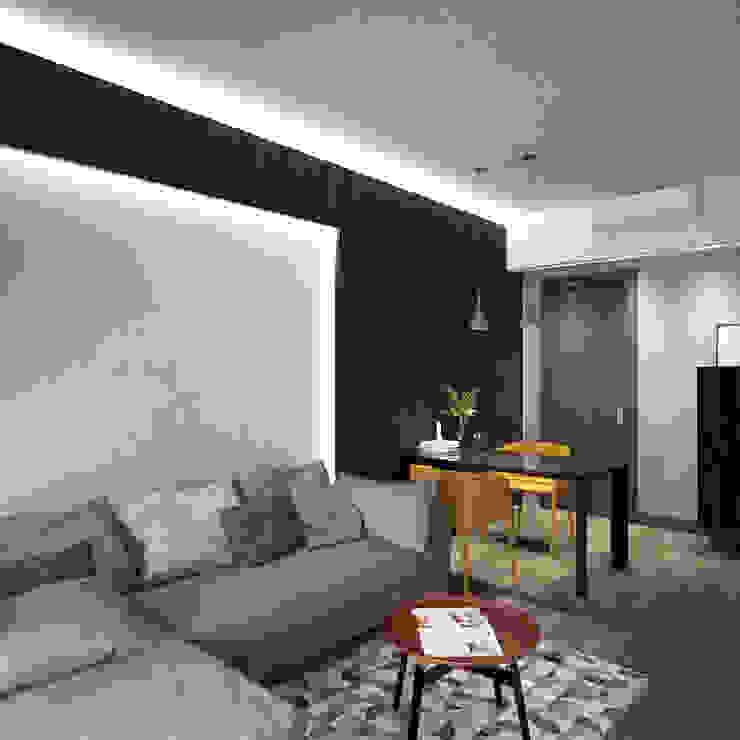 Modern living room by Nelson W Design Modern