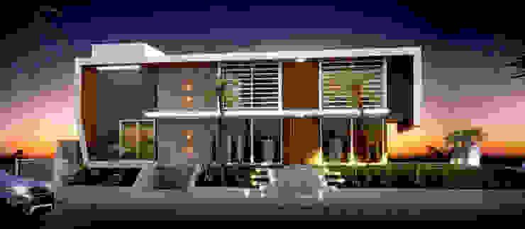 Rumah Modern Oleh studio vert arquitetura Modern