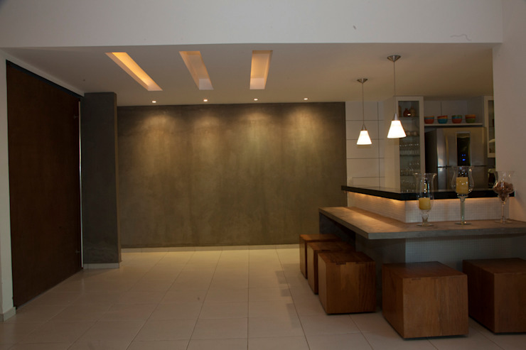 Cozinha americana Cozinhas modernas por MORSCH WILKINSON arquitetura Moderno Concreto